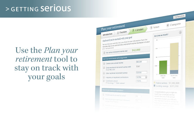 Sign in to create your retirement plan today!